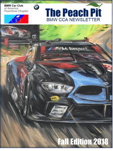 Fall Newsletter Peachtree BMW CCA