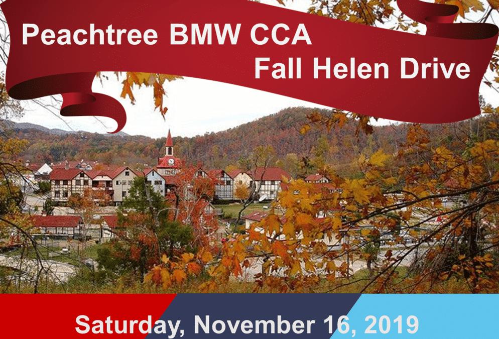 Peachtree BMW CCA Fall Helen Drive